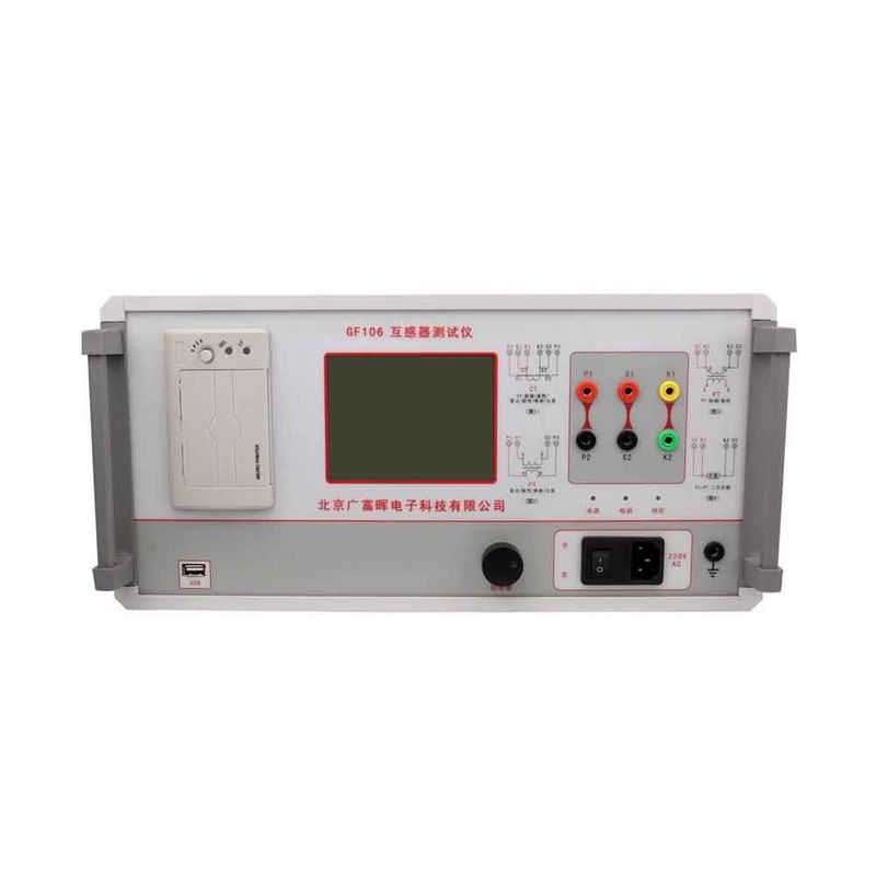 Portable Smart CT PT Analyzer , Current Transformer Testing Equipments On Feild Testing