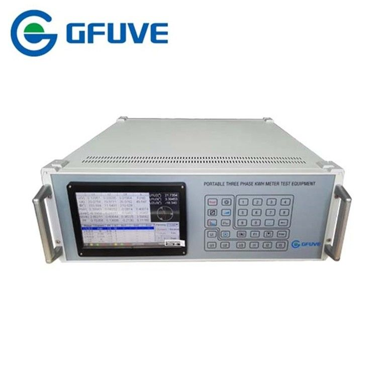 Three Phase Kwh Meter Test Equipment GF302D Class 0.5 180 - 265V Power Supply